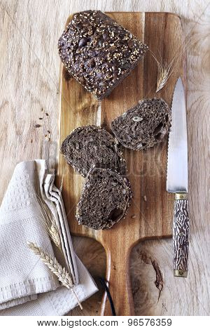 French Black Bread
