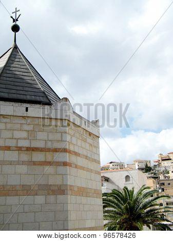 Nazareth Basilica Landscape 2010