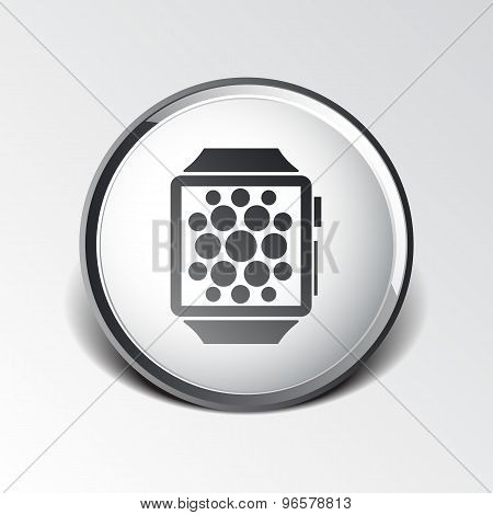 Watch Phone icon vector tablet flat multimedia