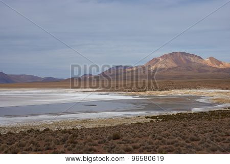 Salt Lake on the Altiplano