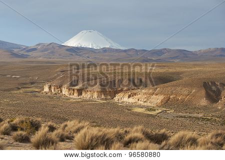 Volcano on the Altiplano