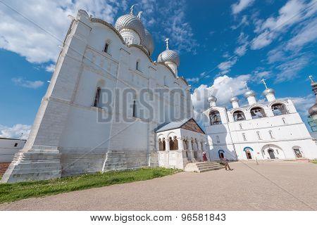 Orthodox Churches By The Kremlin.