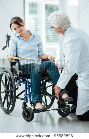 Doctor Visiting An Invalid Patient