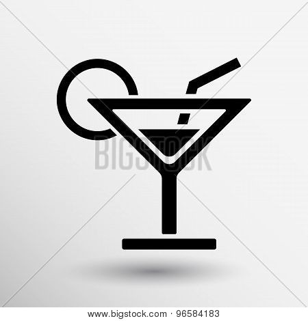 vector pub wine drinks cold liquid logo cocktail