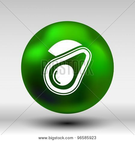 Avocado and Healthy Fruit design vector illustration