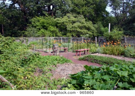 Colonial Vegetable Garden