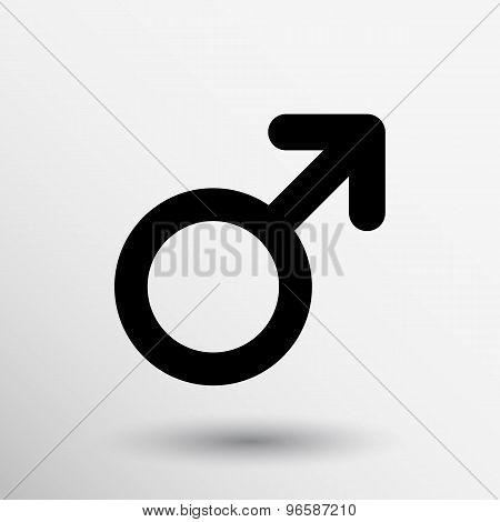 sign man human cross boy arrow vector