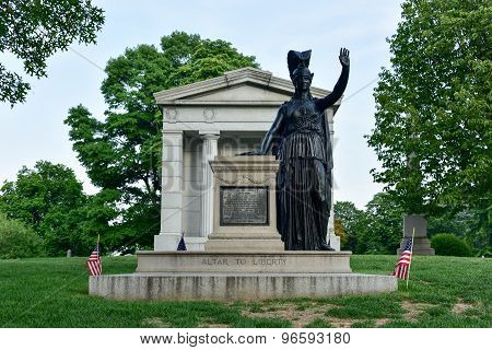 Altar To Liberty: Minerva