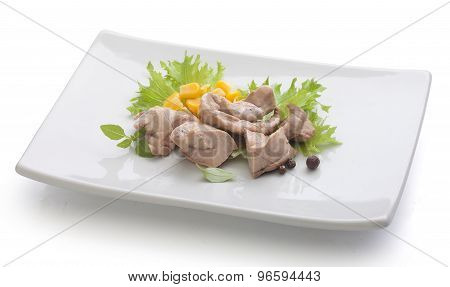 Cod Liver With Corn