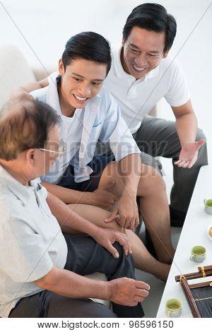 Three Male Generations