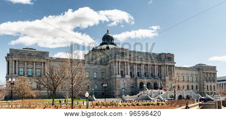 Library of Congress Thomas Jefferson building in Washington DC