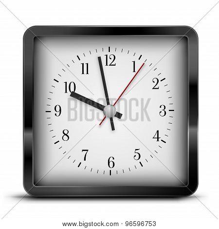 Sqaure clock