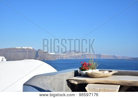 Santorini Ia Crater View