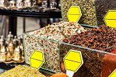 image of spice  - Spice Bazaar in Istanbul - JPG