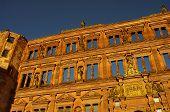 pic of samson  - Heidelberger Schloss Castle Ottheinrich building - JPG