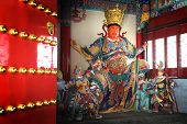 "pic of budha  - Chinese god ""Guan Yu"" with his henchman