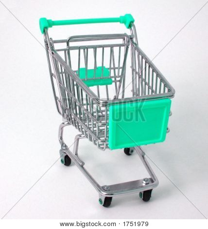 Green Shopping Trolley