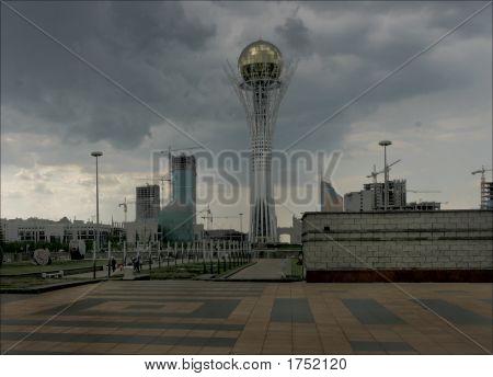 Monument Baiterek In Astana
