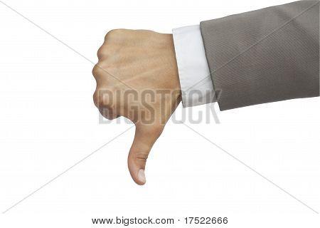 dislike gesture