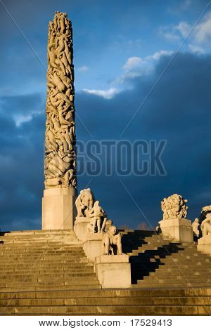 Sculpture Park in Oslo Norway - Vigeland Park