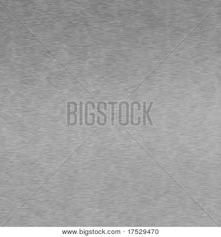 Background texture of brushed aluminum - 25 megapixels