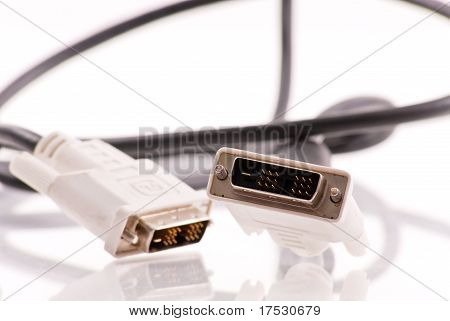 Computer Dvi Connection Cable