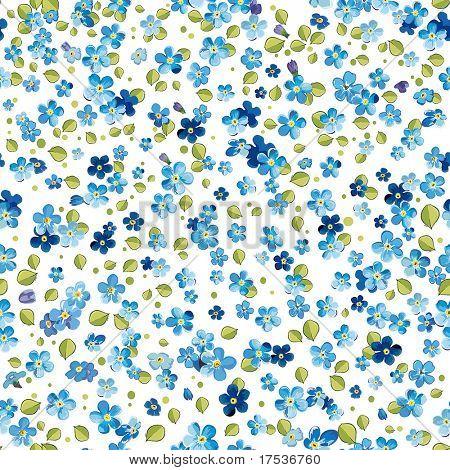 Stilvolle schöne helle floral seamless Pattern. Abstrakt Eleganz Vektor-Illustration-Textur mit