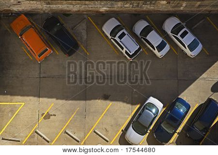 Urban Parking Lot