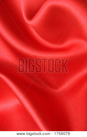Red Satin Fabric Edited