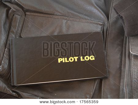 Pilot Log A4 Leather Jacket