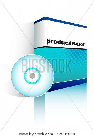Software Box (vector)