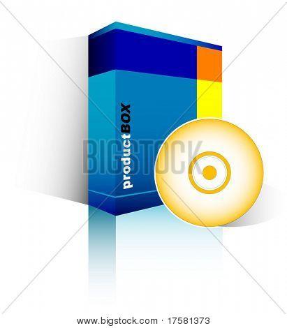 Blue Box (vector)