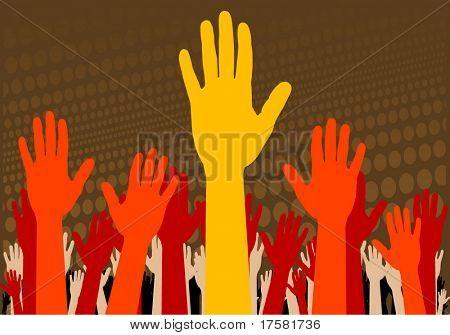 HANDS (vector)