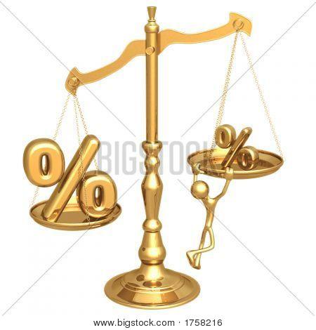 Unbalanced Golden Scale Apr