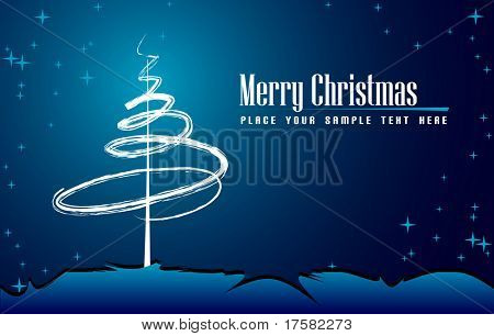 Christmas decoration (vector)
