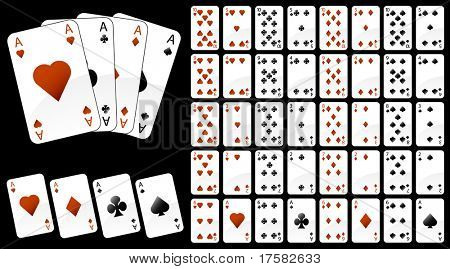 Illustration of game cards