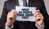 What Do People Think About You? poster