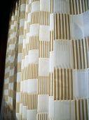 Gauze Striped Curtain