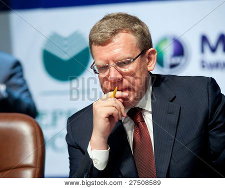Former Minister Of Finance Kudrin