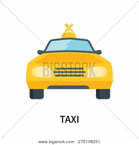 Taxi Icon Isolated On White