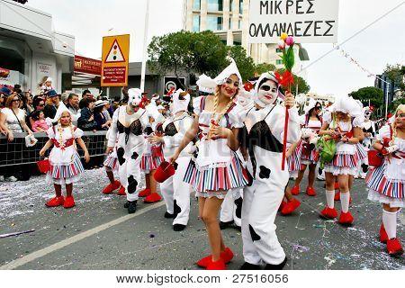 Carnaval en Chipre