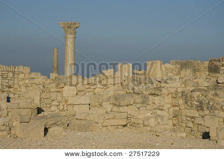 Kourion archaeological site on Cyprus