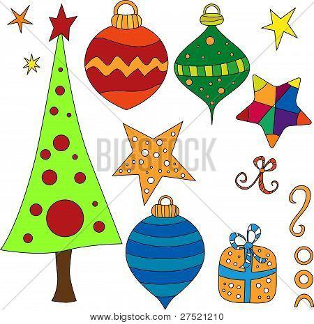 Vector Christmas Graphics Collection