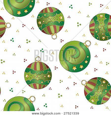 Seamless tiling Christmas texture