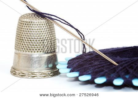 Closeup Sewing Kit