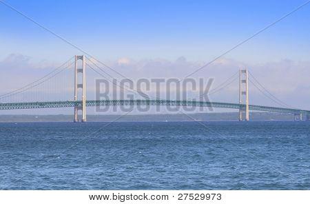 historic mackinac bridge -longest bridge in america