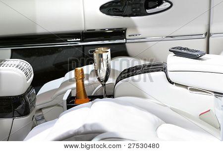 Luxury car interiors