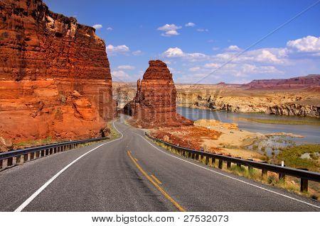 Desierto escénica