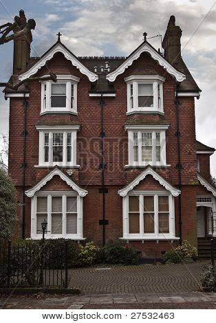 Georgian style house in London