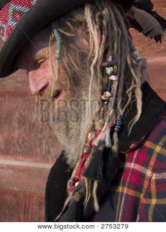 Eccentric Older Man Portrait